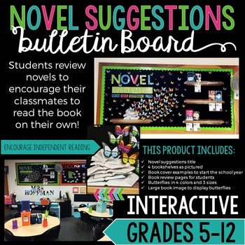 Bulletin Board Ideas For Middle School Reading Teaching Resources