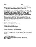 Novel Summary Assignment