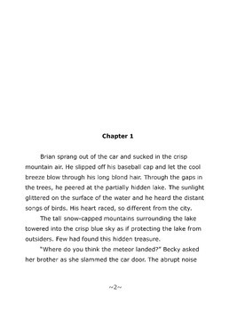 Novel: The Mystery at Pineview Lake - Great for Reluctant Readers - Grades 3-5