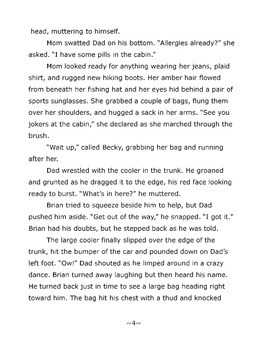 Novel: The Mystery at Pineview Lake - Ages 9-12 - PDF and Digital Versions