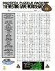Novel : The Westing Game Puzzle Page (Wordsearch and Criss-Cross)