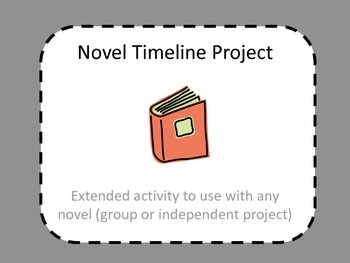 Novel Timeline Project - Works with any novel!