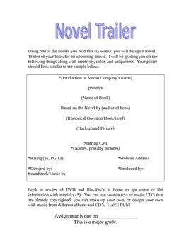 Novel Trailer