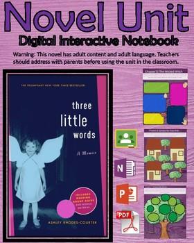 Novel Unit - 3 Little Words