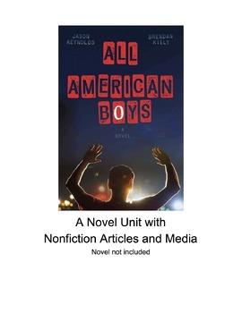 "Novel Unit ""All American Boys"""