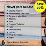 Novel Unit Bundle Includes 11 novel units