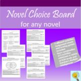 Novel Unit Choice Board