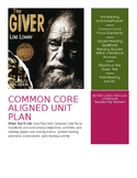 Novel Unit For The Giver