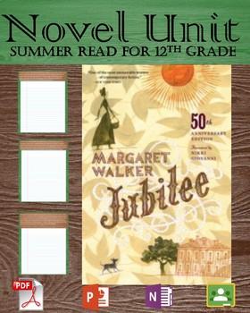 Novel Unit - Jubliee by Walker