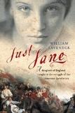 Novel Unit: Just Jane (American Revolution) book by Willia