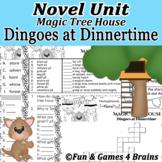 Novel Unit Magic Tree House - Dingoes at Dinnertime-Over 3