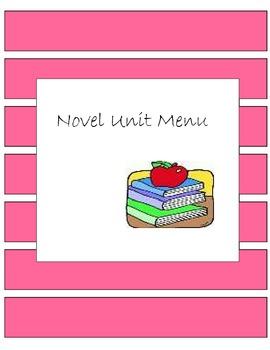 Novel Unit Menu