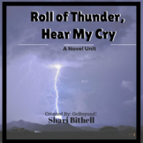 Roll of Thunder, Hear My Cry by Mildred D. Taylor Novel Study