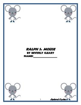 """""""Ralph S. Mouse"""" Novel Unit"""