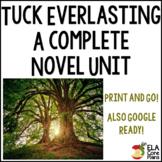 Tuck Everlasting Novel Unit ~ Activities, Handouts, Tests!