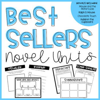 Novel Units-Bundle pack of our BEST SELLERS