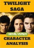 Novel Vs Film: Twilight by Stephenie Meyer