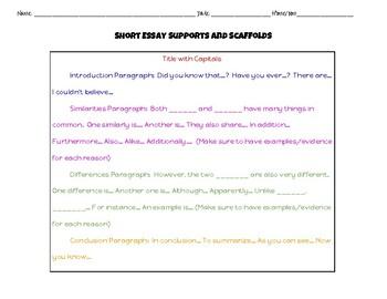 Novel and Film Comparison Essay