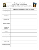 Novel study: The City of Ember and a film version - compar