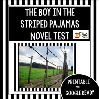 Novel test for The Boy in the Striped Pajamas