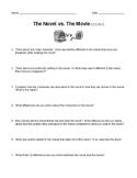 The Novel vs. The Movie (RL.7)