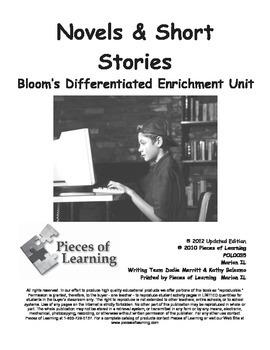 Novels & Short Stories - Differentiated Blooms Enrichment Unit