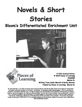 Novels & Short Stories - Differentiated Blooms Enrichment Unit