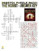 Novels - The Hobbit Puzzle Page (Wordsearch and Criss-Cross)