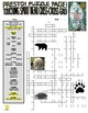 Novels - Touching Spirit Bear Puzzle Page (Wordsearch and Criss-Cross)