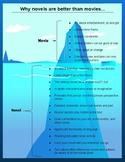 Novels are Better Iceberg