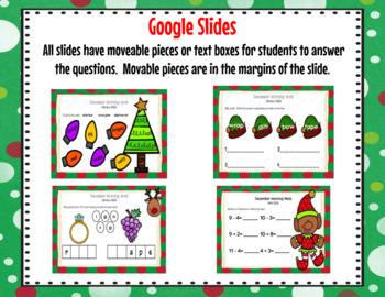 December 1st Grade Morning Work for Google Classroom