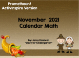 November 2017 Calendar for the Promethean Board (ActivBoard)