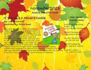 November 2013 Homework Calendar