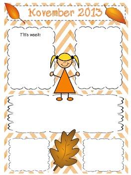 November 2013 Newsletter Template