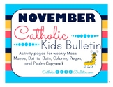 November 2017 Catholic Kids Bulletin