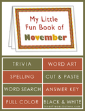My Little Fun Book of November Helps Reinforce the Months of the Year