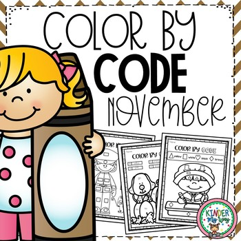Color by Code November