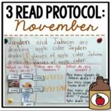 November 3 Read {A Close Read of a Math Story}
