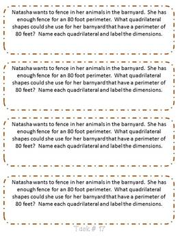 November 3rd Grade Common Core Math Journal Prompts