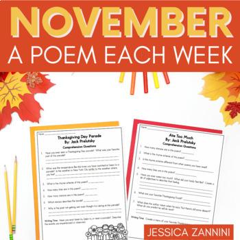 November A Poem Each Week