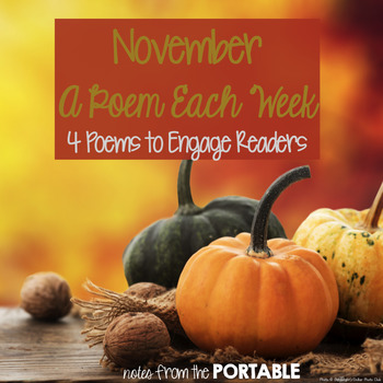 November A Poem Each Week