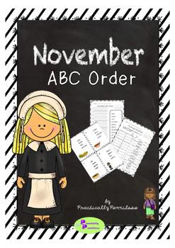 November - ABC Order