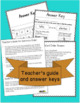 November Word of the Day Cut and Paste Vocabulary Activities