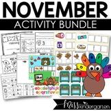 November Activities Bundle