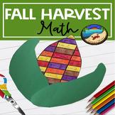 November Activities for First Grade: Fall Harvest Math Craft