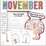 November Activity Packet
