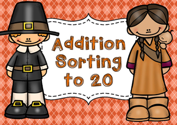 November Addition Sorting to 20
