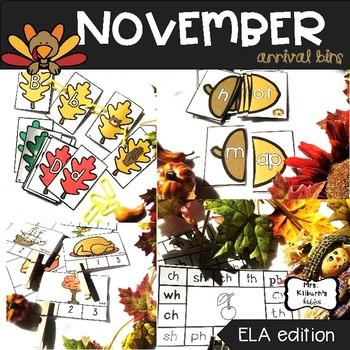 November Arrival Bins--ELA Edition