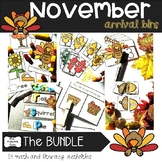 November Arrival Bins--the Bundle