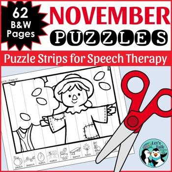 November Articulation Puzzles